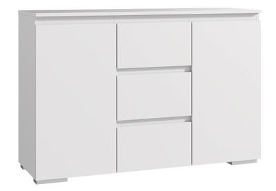 БОЛЬШОЙ КОМОД ШКАФ Neo 120 белая ящик двери