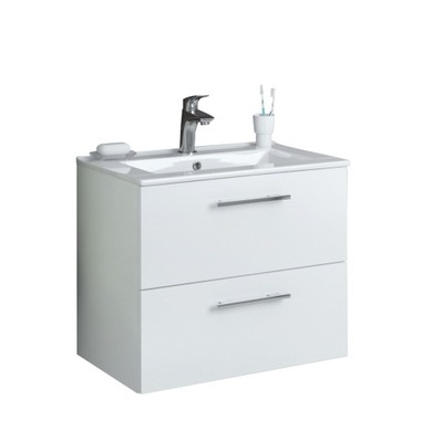 Set do kúpeľne a WC - Skrinka DEFTRANS DESPACITO s bielou umývadlom 60 cm