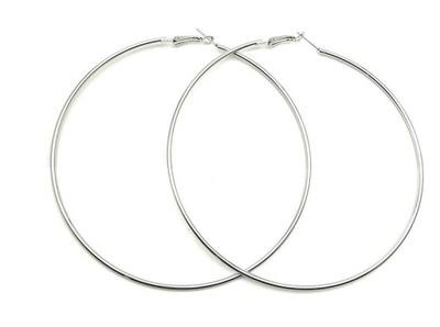 серьги большие СЕРЕБРЯНЫЕ Колеса кольца Племенной celebrytka