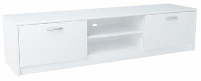 Шкаф столик RTV 2DC 160 см белая комод, книжный шкаф