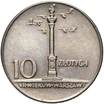 Polska - 10 Złotych 1965 - KOLUMNA ZYGMUNTA III