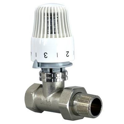 teploty vrátiť toku, ventil je jednoduchý RTL