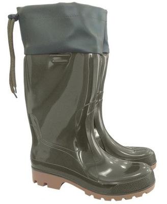Buty męskie typu kalosz,siągany kołnierz r.45DEMA