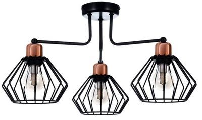 Stropné SVIETIDLO STROPNÉ svietidlo Retro LOFT drôt lampshades