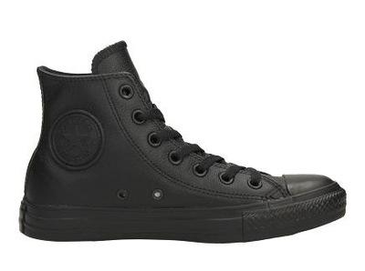 Trampki Converse 135251 Czarne Skórzane (44)