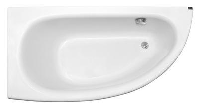 Vaňa - Asymetrický kúpeľňový kúpeľ 150x70 + nohy rámu