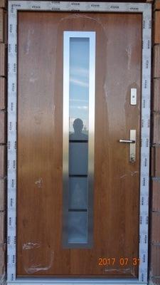 двери WIKĘD Оптимум термо Узор  12 + Монтаж