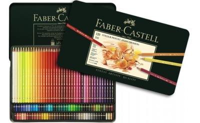 Polychromos farebné Ceruzky 120 farby kovu Faber-castell