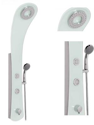 Sprcha - Sprchový panel s hydromasážnym sklom Kerra