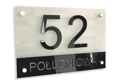 Znamenie na DOME ADRESU špz 35x25cm ZNAK