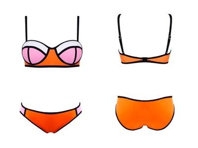59bbfa1587cce6 Neonowe Bikini Strój Push UP 41278 S 36 - 5559983242 - oficjalne ...