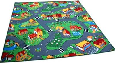 Koberec do detskej izby - Kobercové uličky Farma Cars Sovy 200x250 8 vzory!