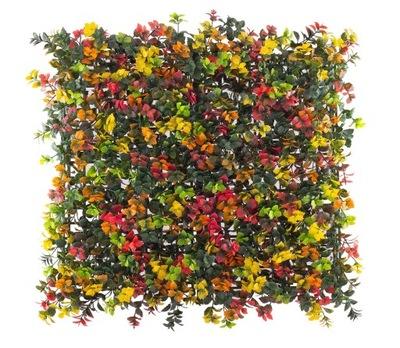 Rastliny umelé zabezpečenie panely farebné barwik