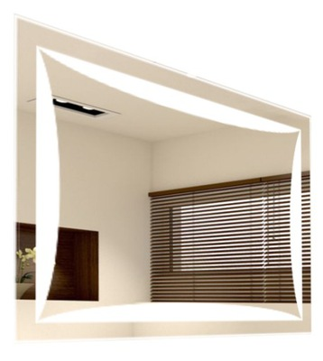 S16 зеркало ванной LED Подсветка 80 x 60 см