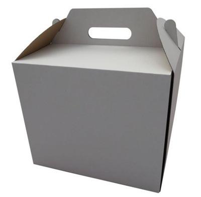 в коробке коробка ТОРТ Белый С ДЕРЖАТЕЛЕМ 30x30x25cm
