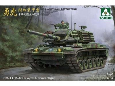 Танк СМ-11 ? - 48H Brave Tiger ЭРА 2091 Takom ТЮМЕНЬ