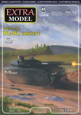 танк  -01 Концепции  1 :35_Extra Модель