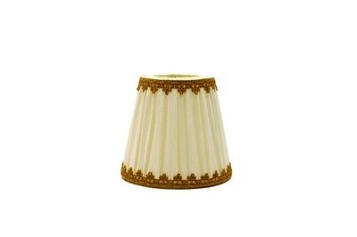 Tienidlo lampy Tieni Retro Kužeľ-Béžová/Svetlo Hnedá 9x14x13
