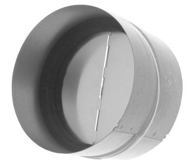 Potrubie, rúra, spona - Ventilačná klapka Klapka 160 mm Vratné