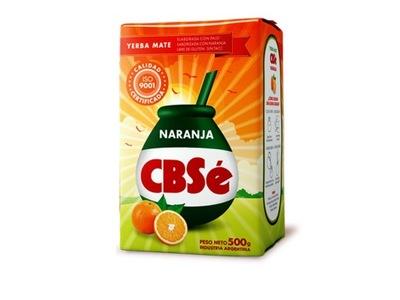 Yerba Mate Cbse Наранья 500 г , оранжевая, фрукты