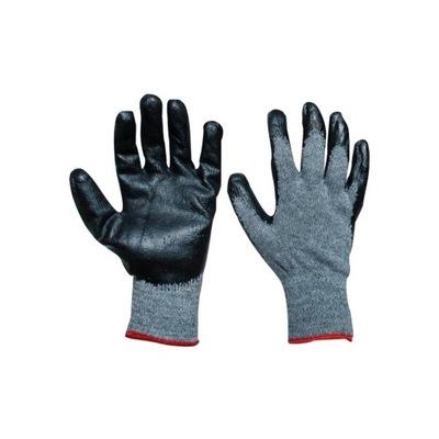 перчатки перчатки рабочие СЕРО-черные R10