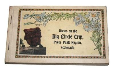 BIG CIRCLE TRIP PIKESPEAK РЕГИОН КОЛОРАДО 1921