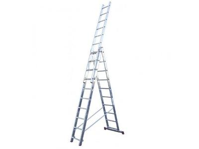 Краузе CORDA Лестница алюминиевая 3x6 4 ,85м 030368