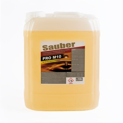 Płyn 10 L do maszynowego mycia 10L SAUBER PRO M 10