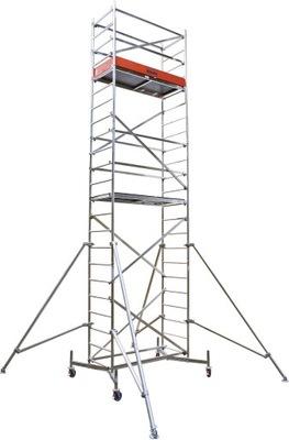 Леса Алюминиевый ходовые ClimTec 5 ,00м+ролики