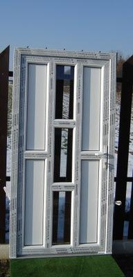 Теплый двери 73 ПВХ Salamander M44 белый AGO