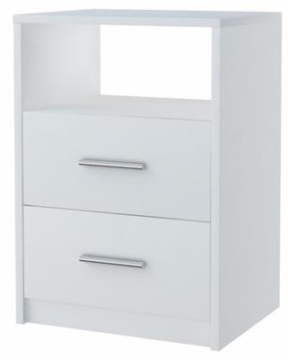 тумба 2SO белая 40см ящик комод, книжный шкаф