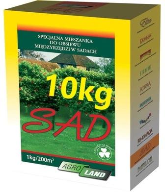 Bylinkovej ZÁHRADY 10 kg trávne semeno s ĎATELINA AgroLand