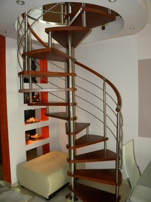 Točité schodisko, CORA model Bavorsko, vertikálne 120 cm