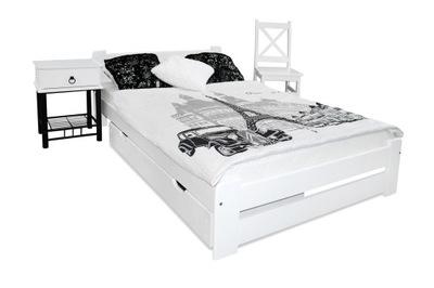 кровать сосновые EUREKA 120х200 белое каркас производителям
