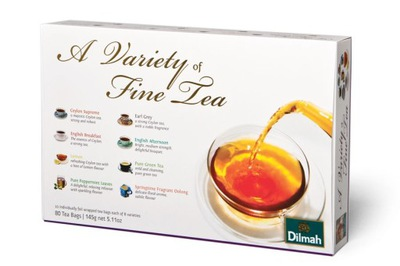 Dilmah   Variety of Fine Tea комплект с подарками