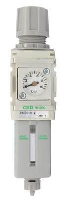 Filtr powietrza z reduktorem CKD W1000 8G 1/4''