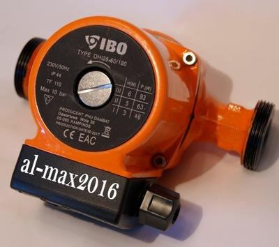 IBO cirkulačné Čerpadlo pre vykurovanie 25-60/180 OHI POĽSKO