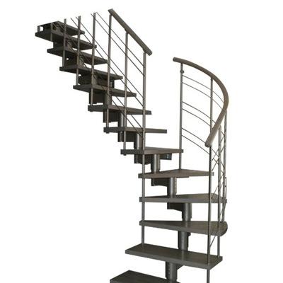 Лестница КОРА модель микс плюс 07 Л -90 14 элементов