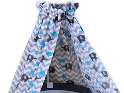 Baldachýn nad postieľku - BALDACHIM pre dieťa 100% bavlna veľký výber