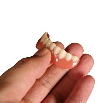 искусственные зубы-накладки на зубы Нижние