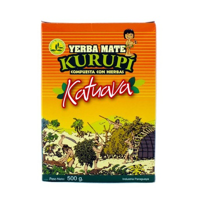 Yerba Mate Kurupi Katuava Особенные Ноль ,5 кг 500 г