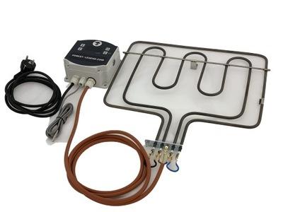 UMENIE kúrenie 2.9 kW generátor dymu udiarni