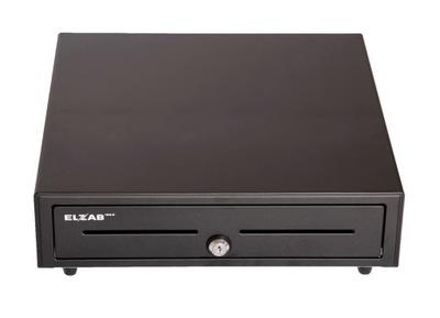 stredné peňažné Zásuvky RJ ELZAB ELZ-350 grafit