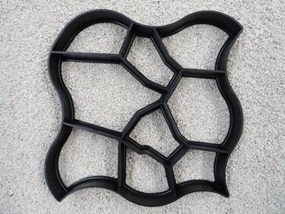 Формы Форма ??? бетона шоколадный МУСС 60x60x6cm кубики