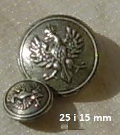 пуговица пуговицы легионерским большие или małe1917 (2 )