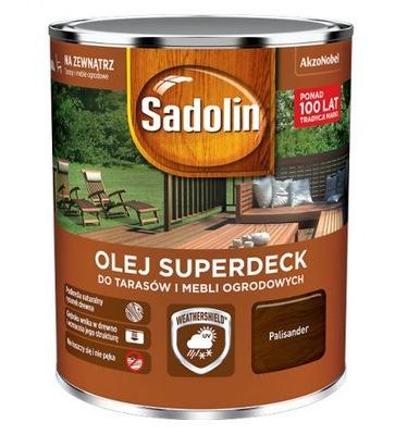 Sadolin масло SUPERDECK для ДРЕВЕСИНЫ И ТЕРРАС 5Л