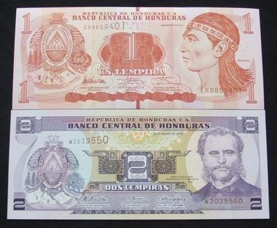 ZESTAW BANKNOTÓW HONDURAS !!! STAN UNC !!! OKAZJA