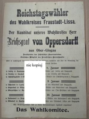 1912 Fraustadt Szlichtyngowa Лиза Лешно Глогувек