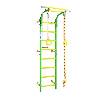Rebrík centrum pre batoľa Vedľa-1 zelená