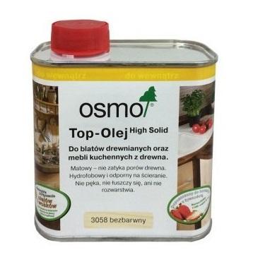 Осмо 3058 TOP-масло для столешниц прозрачный Ноль ,5 L